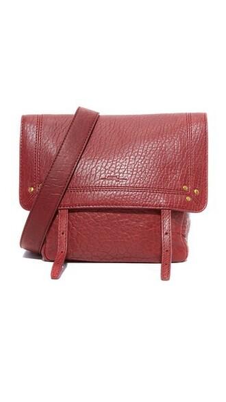 bag shoulder bag burgundy