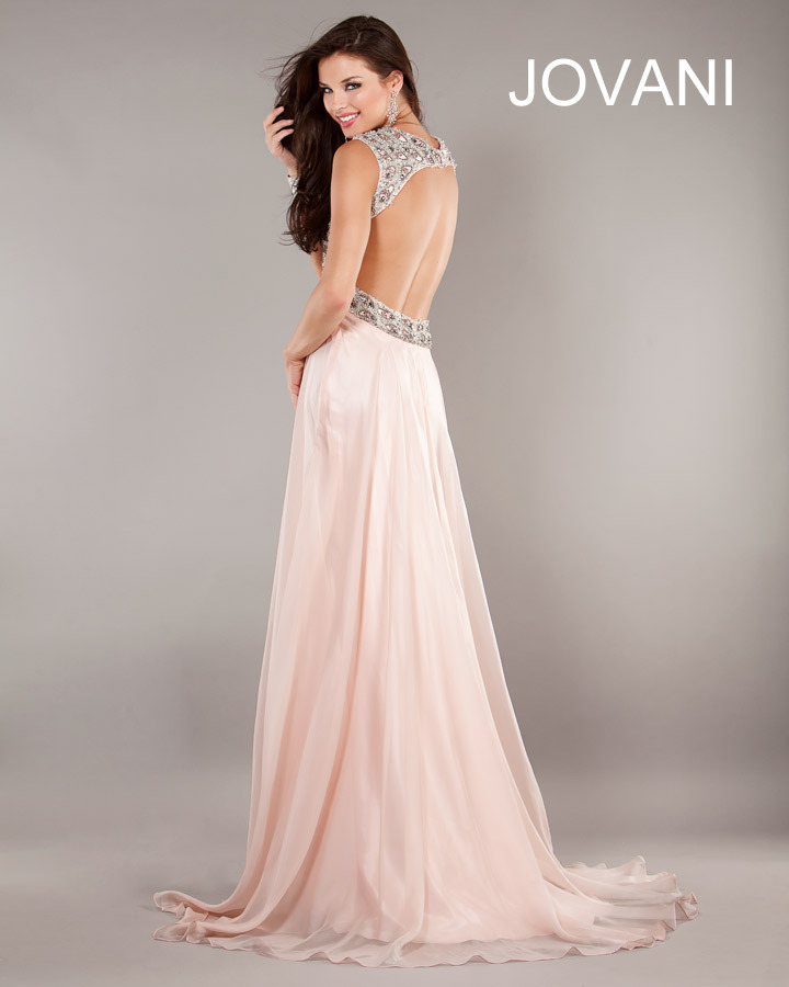 1929 JOVANI Prom Dress Price Match GUARANTEE Layaway Long Gown Pink 2 4 6 8 10 | eBay