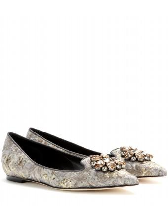 mytheresa.com - Bellucci brocade ballerinas - Ballerinas - Shoes - Luxury Fashion for Women / Designer clothing, shoes, bags