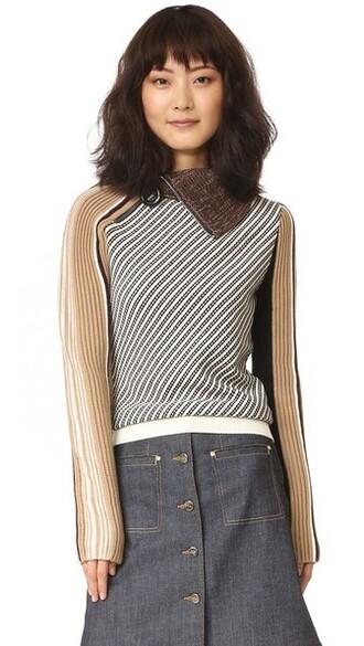 sweater turtleneck turtleneck sweater noir camel