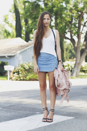snakes nest,jacket,skirt,bag,shoes,skirt denim,denim