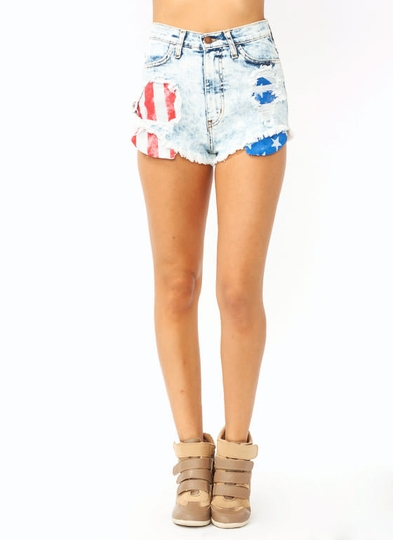 destroyed-acid-wash-shorts LTBLUE - GoJane.com