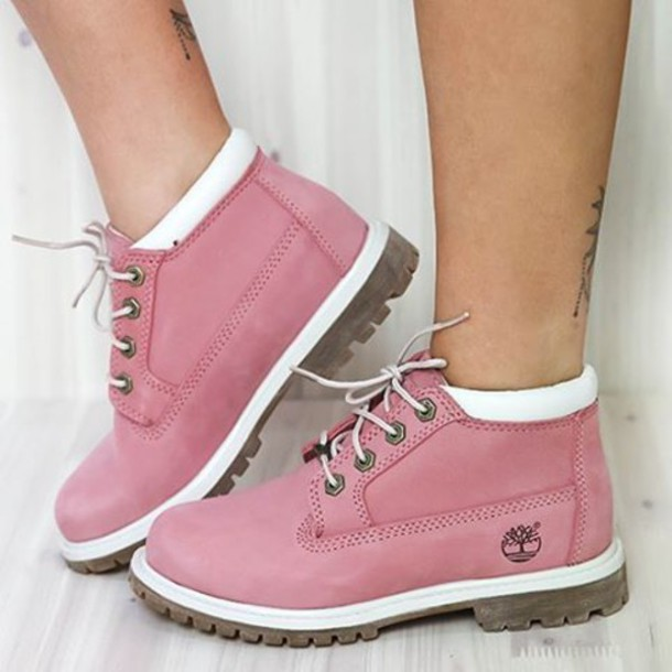 shoes boots pink boots pink suede timberland boots timberlands timberlands  pink tims peppermayo timberland 29f04bc99a