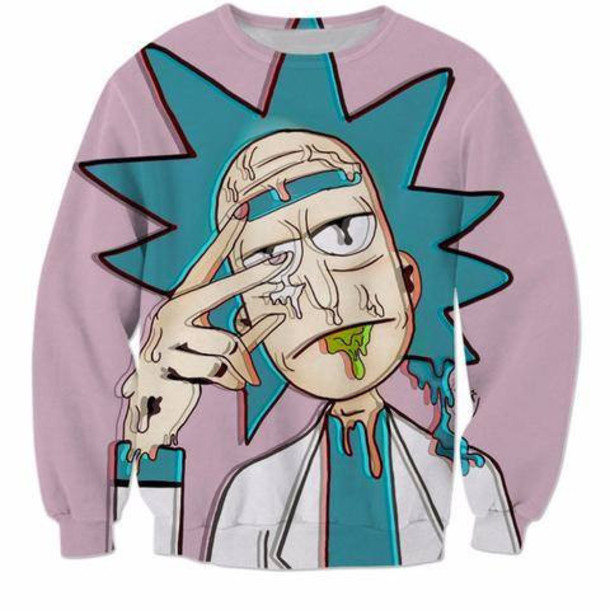 sweater rick and morty sweater trendy trending sweater rick sanchez morty smith rick morty rick and morty t-shirt