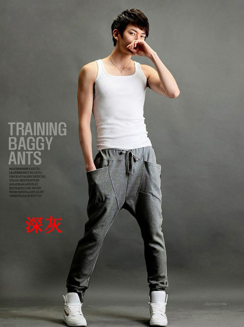 New Mens Boys Casual Harem Baggy Hip Hop Dance Sport sweat Pants Slacks Trousers | eBay