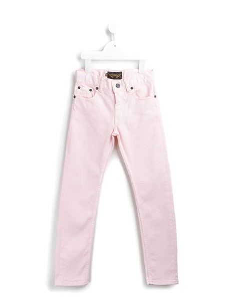 Finger In The Nose jeans girl classic purple pink