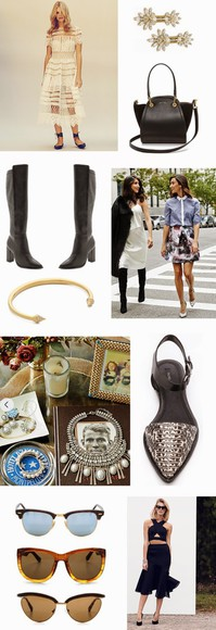 white dress blogger this time tomorrow jewels bag sunglasses top pointed toe