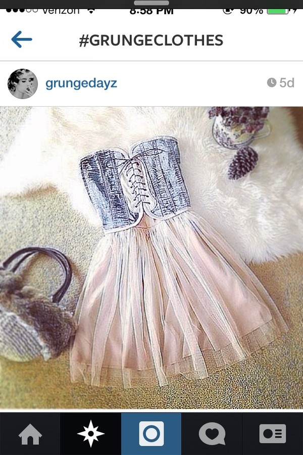 dress sundress black white denim cute tumblr tumblr clothes lace dress lace up lace