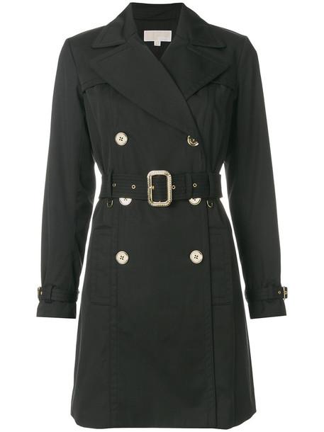 coat trench coat women spandex cotton black