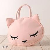 bag,cats,kawaii,pink,purse,cute,kawaii bag