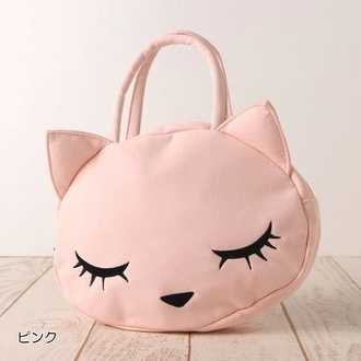 bag kitty kawaii pink purse cats cute kawaii bag