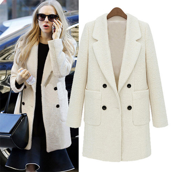 Coat: clothes, warm coat, beautiful, winter coat, wool ...