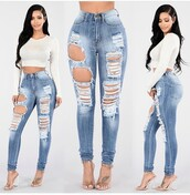 top,jeans,skinny jeans,blue jeans,high waisted jeans,ripped jeans,light blue jeans,pants,skinny pants,high waisted pants,outfit,outfit idea,fall outfits,summer outfits,spring outfits,cute outfits,date outfit,party outfits,white top,summer top,cute top,white crop tops,long sleeves,long sleeve crop top,shoes,sexy shoes,party shoes,cute shoes,summer pants,summer shoes,heels,high heels,cute high heels,ankle strap heels,pumps,high heel pumps,clothes,trendy,fashion,stylish,style,streetwear,streetstyle,clubwear,casual
