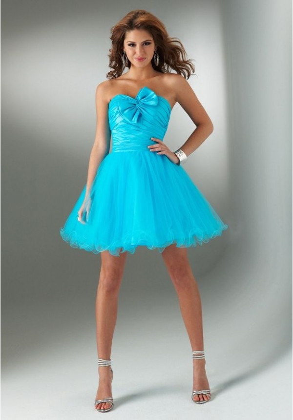 [$132.00] tulle and taffeta strapless sweetheart a