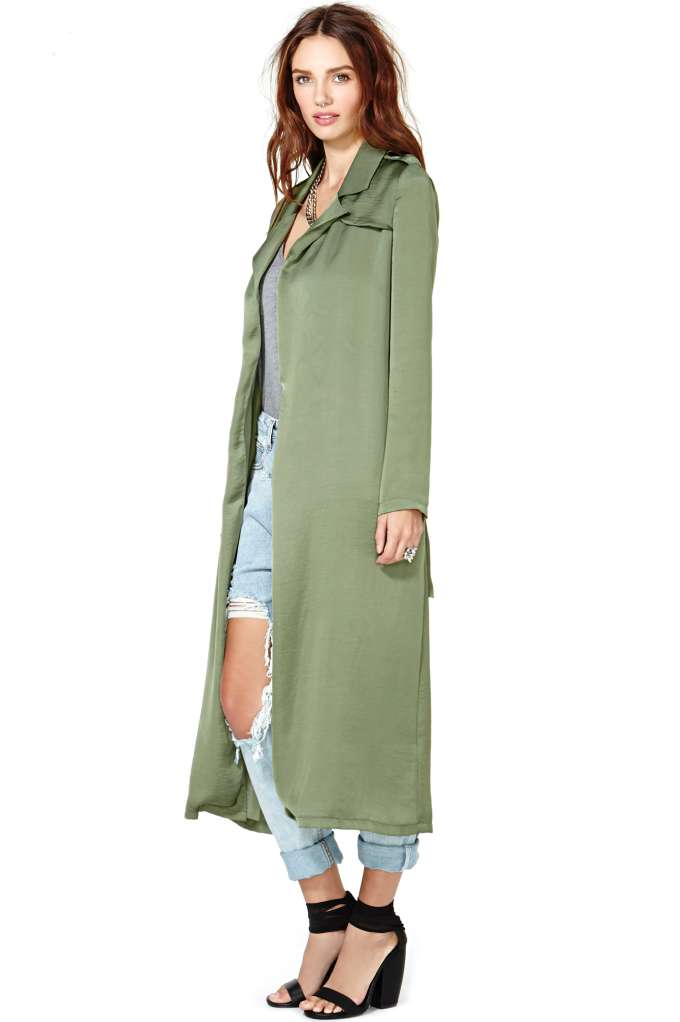 Nasty Gal Rendezvous Trench Coat at Nasty Gal