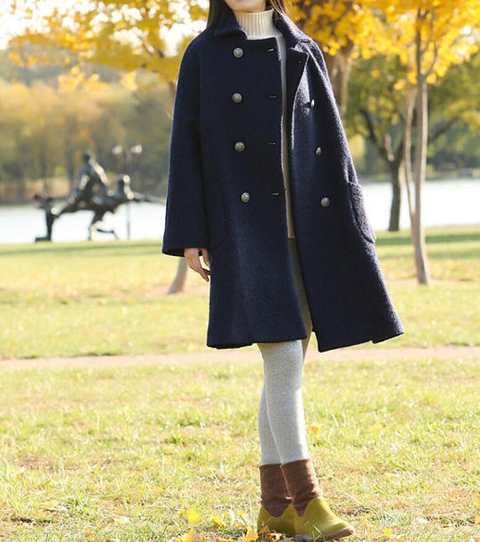 coat wool overcoat women wool overcoat