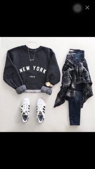 sweater new york city style calvin klein
