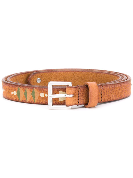 hollywood belt nude print