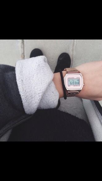 jewels watch rose gold watch casio watch casio rose gold