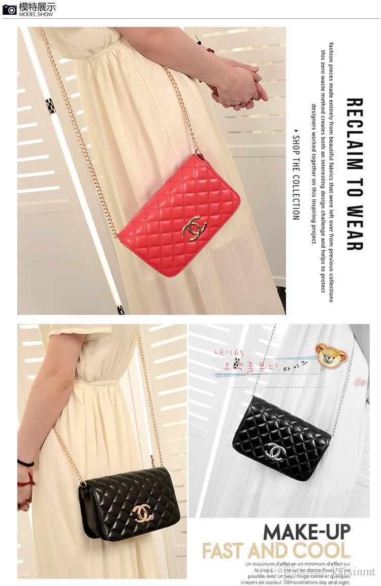 31656d9bfe408e Best 2015 Hot Sale Women Mini Shoulder Bags Clutch Winter Classic Plaid  Chain Handbags Pu Leather ...