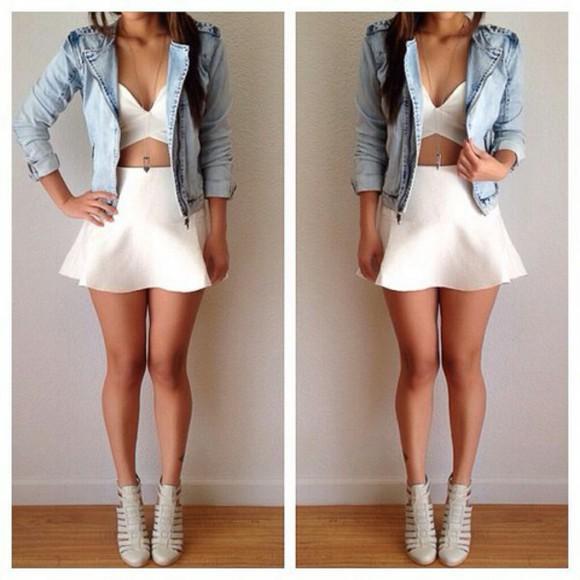 lovely jacket denim top