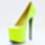 Jennifer Chou Cathrine in Neon Yellow at Solestruck.com