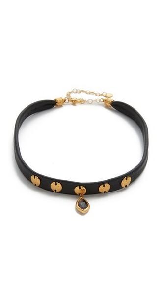 necklace pendant choker necklace black jewels