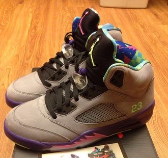 sneakers jordan 5s bel air 5s grey jordans grey shoes shoes