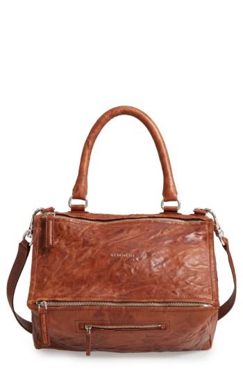 Givenchy 'Medium Pepe Pandora' Leather Satchel | Nordstrom