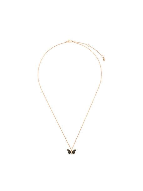 women necklace gold black grey metallic jewels