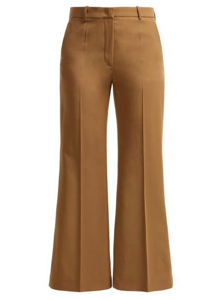 Joseph - Rone Virgin Wool Trousers - Womens - Tan