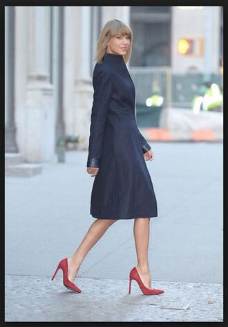 coat taylor swift navy fall outfits