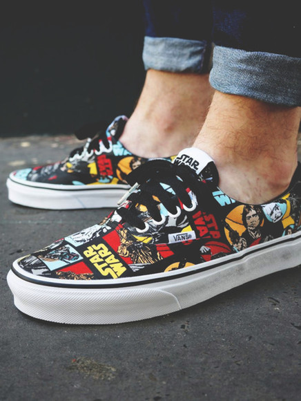 boys shoes starwars vans