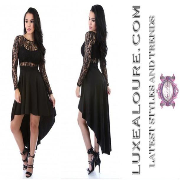 68c84603a014 dress luxe aloure black black dress white white dress lace black lace dress  white lace dress