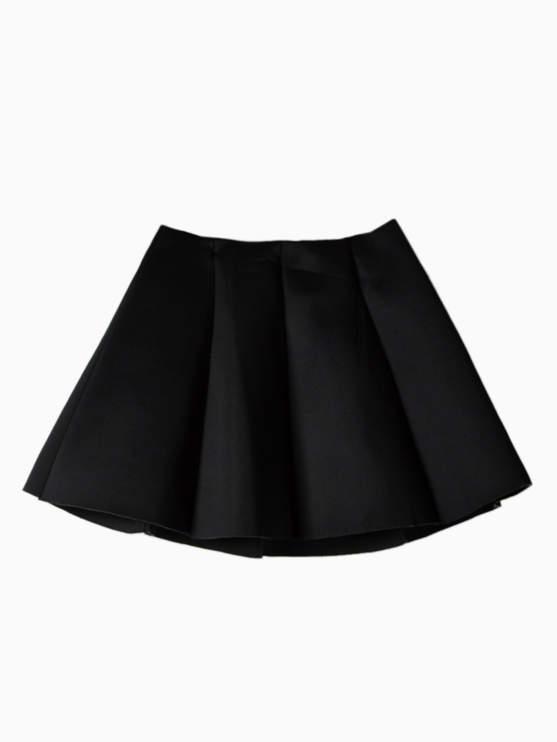 Mini Skirt with Structured Pleats - Choies.com