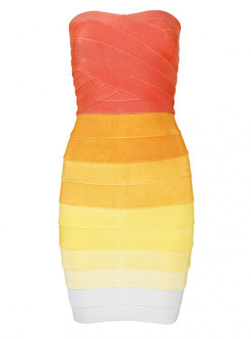 Gradient Color Sexy Bra Bandage H589 $109