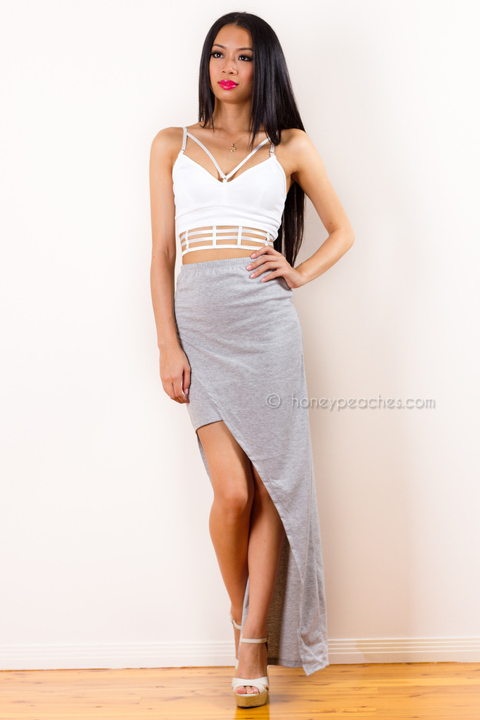 Check On It Skirt – Honey Peaches