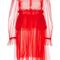 Pleated tulle peplum dress | moda operandi