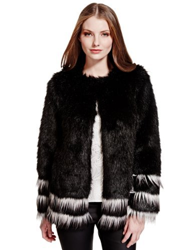Limited Edition Faux Fur Jacket - Marks & Spencer