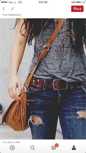 jeans & shirt