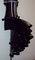 Black burlesque bustle belt all sizes available