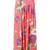 Diane Von Furstenberg floral maxi skirt, Women's, Size: 8, Pink/Purple, Silk