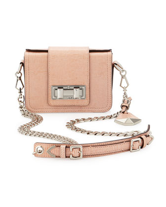 Rebecca Minkoff Collection Mini Lizard-Embossed Box Shoulder Bag - Neiman Marcus Last Call