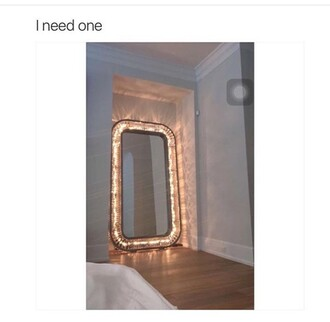 home accessory mirror lights