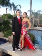 dress,prom dress,red,beautiful,homecoming,hi low dresses