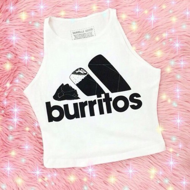 shirt burrito burritos cute top tank top