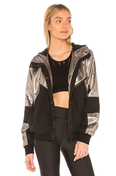 Alala jacket metallic silver