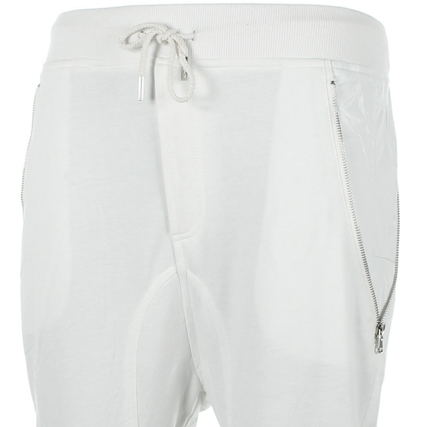 Pantalon Jogging Sarouel Sixth June 1310-106CD Blanc - LaBoutiqueOfficielle.com