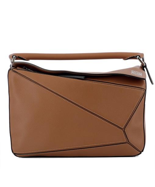 LOEWE bag leather brown