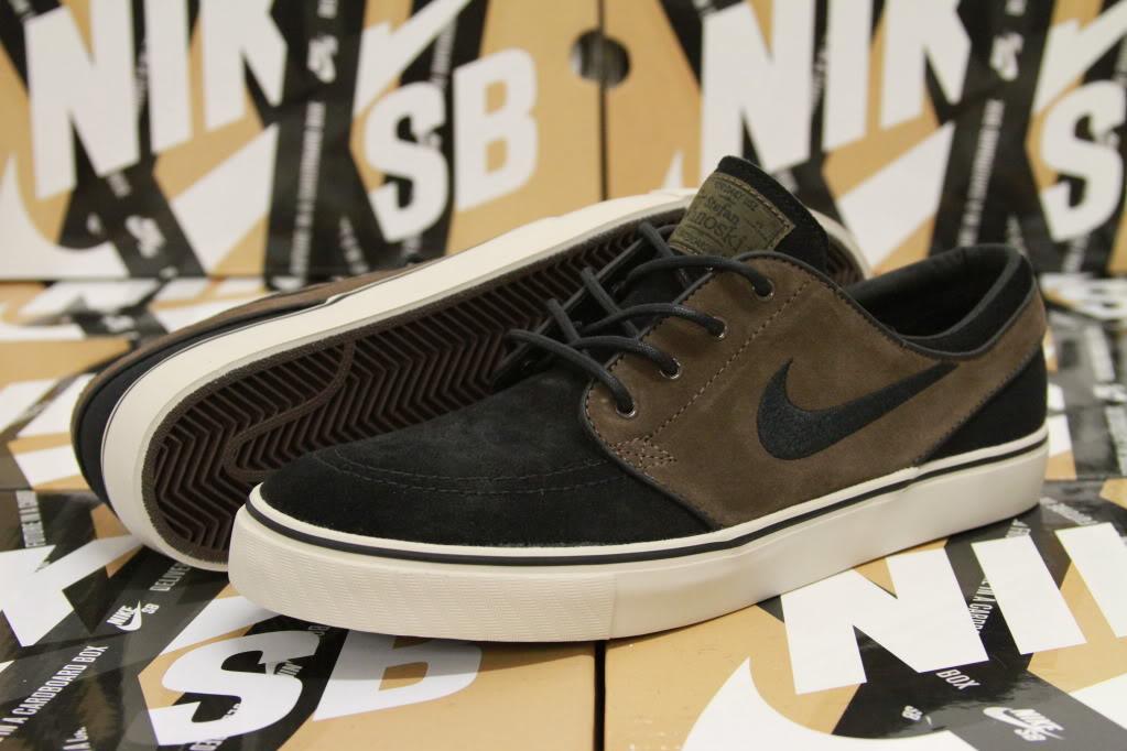 ... Nike SB Zoom Stefan Janoski Size 8 5 Baroque Brown Black Birch 333824  204 eBay ... 2e92e55b8